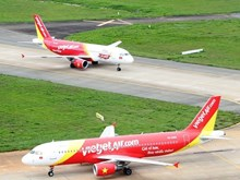 Vietjet Air's flights affected due to bad weather on February 25