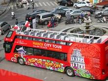 Double-decker city tour gains tourists' favour