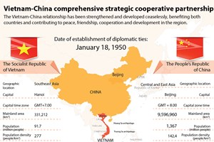 Vietnam-China comprehensive strategic cooperative partnership