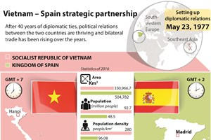 Vietnam-Spain strategic partnership