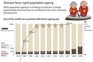 Vietnam faces rapid population ageing