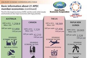 Basic information about 21 APEC member economies (continued)