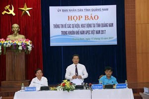 Quang Nam in place for APEC 2017 events