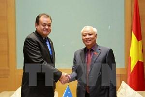 APPF-26: Vietnam, Micronesia promote parliamentary exchanges