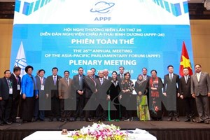 APPF-26 Hanoi Declaration sets new vision for parliamentary ties
