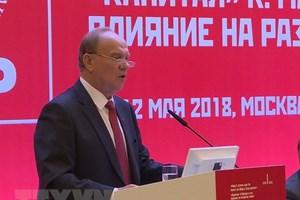 Vietnam attends international symposium on Marxism in Russia