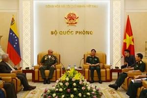 Vietnam, Venezuela step up defence ties