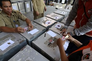 Indonesia holds local elections