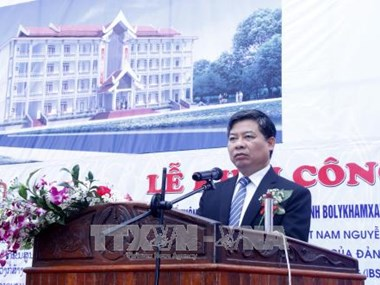 Work starts on Vietnamese-funded school in Laos