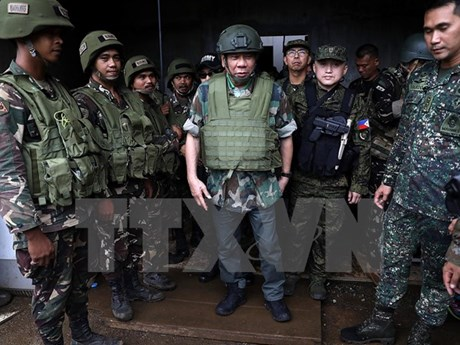 Philippine military to send more soldiers to Marawi