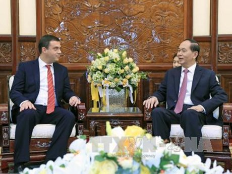 President welcomes newly-accredited foreign ambassadors