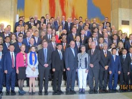 Vietnam attends 12th ASEM customs director general meeting