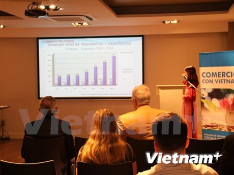 Vietnam holds talk with Argentine importers to boost trade