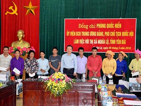 NA Vice Chairman pays working visit to Yen Bai