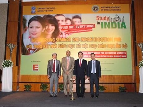 Educational cooperation helps promote Vietnam-India ties