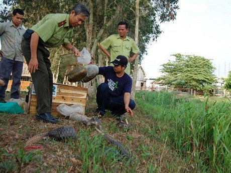 Measures taken to preserve biodiversity in U Minh Thuong National Park