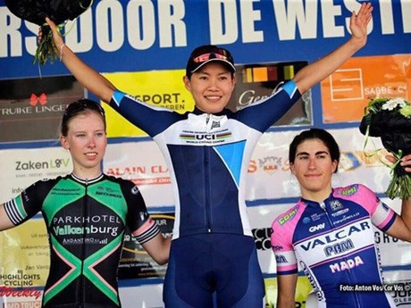 Vietnamese cyclist en route to earning Olympic spot
