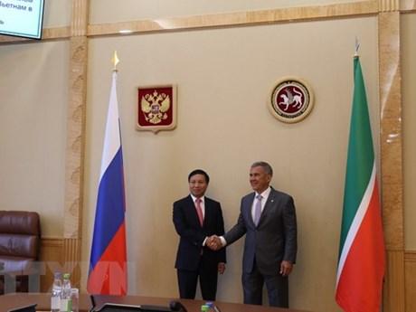 Vietnam, Tatarstan boost cooperation
