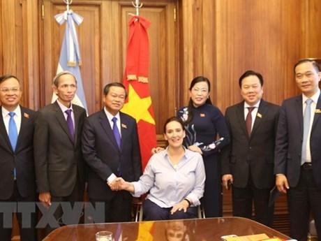 Vietnam promotes legislative cooperation with Argentina