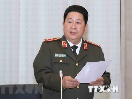 Three high-ranking military, police officials disciplined