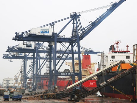 Automatic customs management system applied at Cai Lan Port
