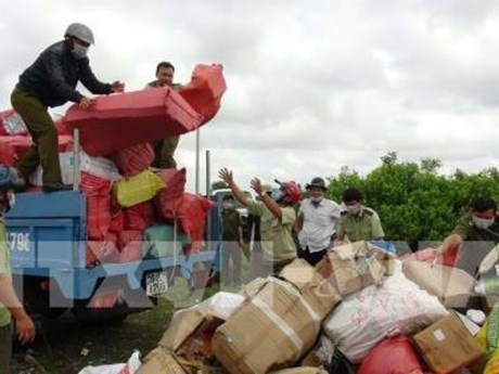 Long An reduces number of smuggling, trade fraud cases