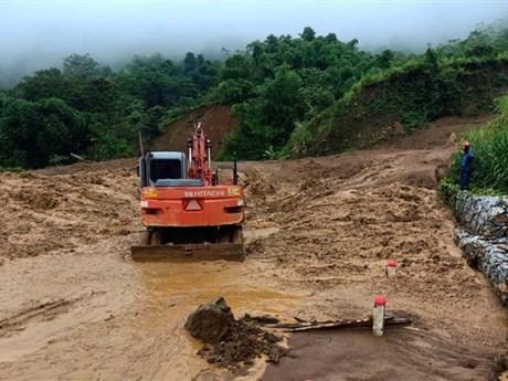 Typhoon-triggered floods leave 10 dead, 2 missing