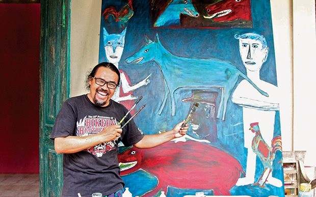 Southeast Asian art works go on show in Hoi An