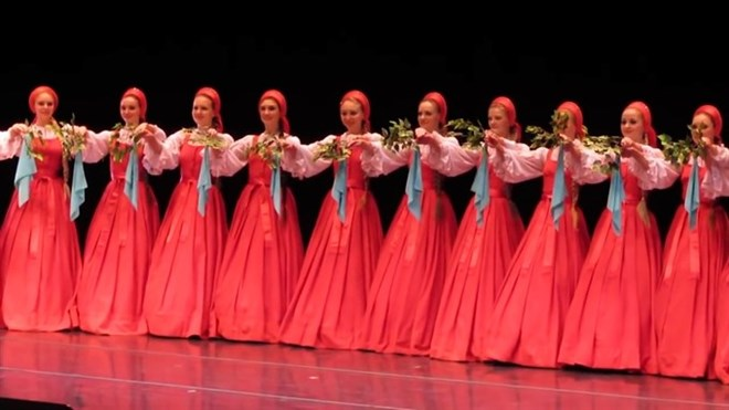 Russian dances, photos come to town