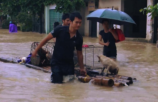 Seven deaths, four missing in floods reported in Thanh Hoa