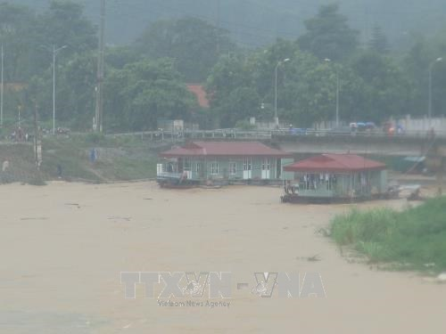 Downpour, flood wreak havoc in Hoa Binh province