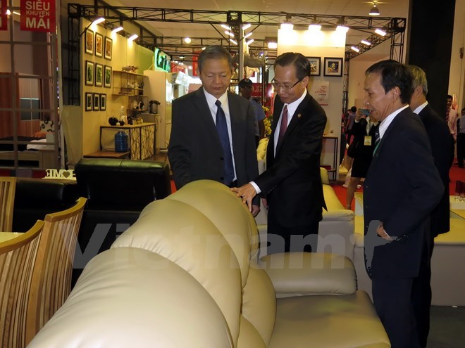 Fair Promotes Wooden Furniture Vietnam Vietnamplus